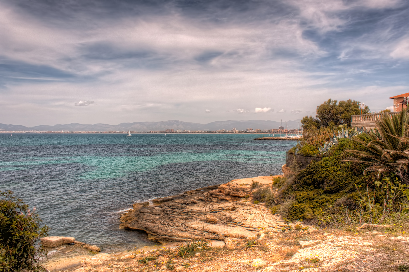 Mediterranean Sea from the Shore of Mallorca