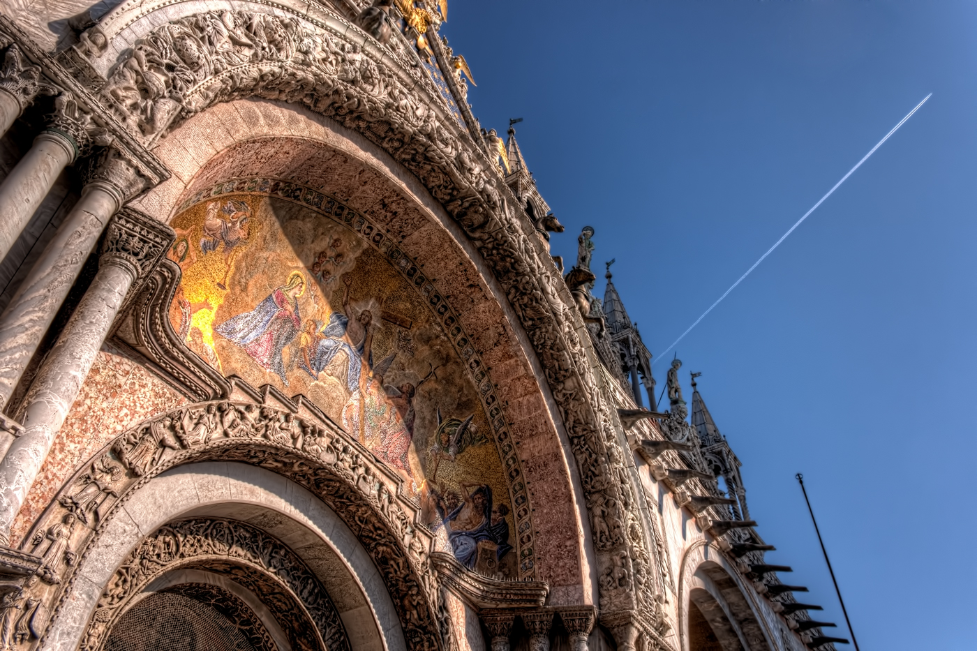 Top of Saint Mark's Basilica