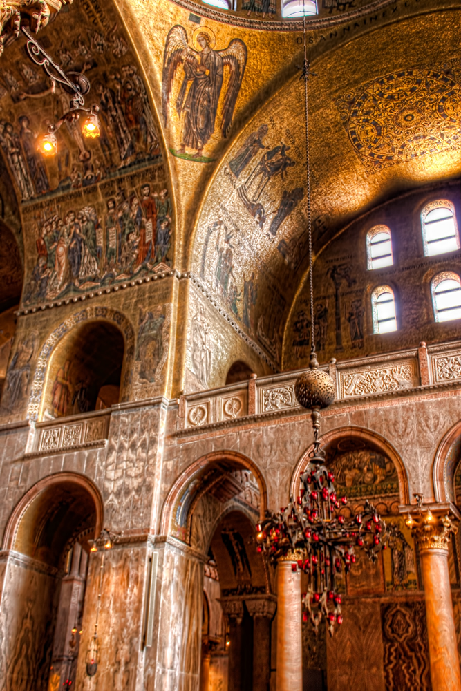 Inside Saint Mark's Basilica