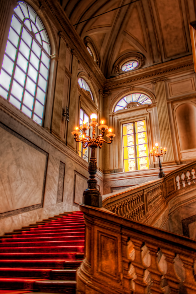 Inside of the Royal Palace of Milan
