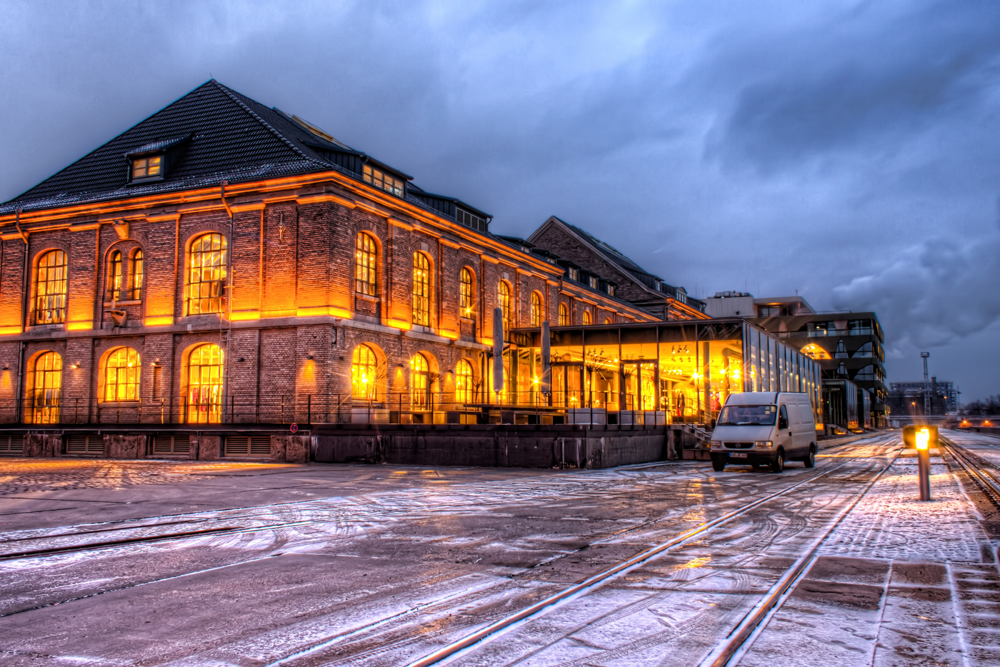 Old Port in Treptow, Berlin (HDR)